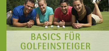 Basics für Golfeinsteiger